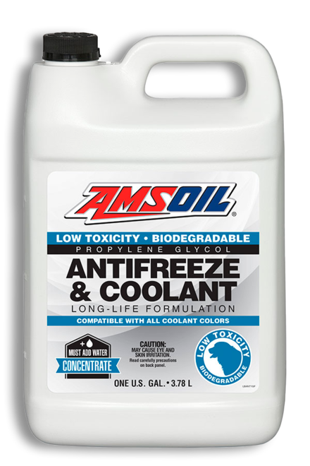 Low Toxicity Antifreeze and Engine Coolant